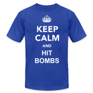 T-Shirts ~ Men's T-Shirt by American Apparel ~ Hit Bombs