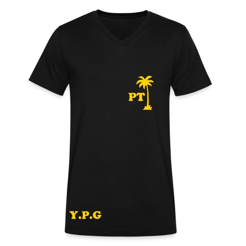 PALM TROOP - Men's V-Neck T-Shirt by Canvas