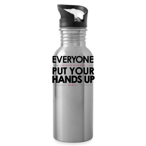 SJ- Hands Up Water Bottle - Water Bottle