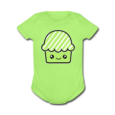Kawaii cupcake (fairy cake) muffin Baby & Toddler Shirts