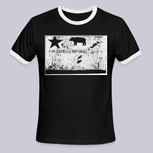 Original California Flag - Men's Ringer T-Shirt