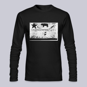 Original California Flag - Men's Long Sleeve T-Shirt by Next Level