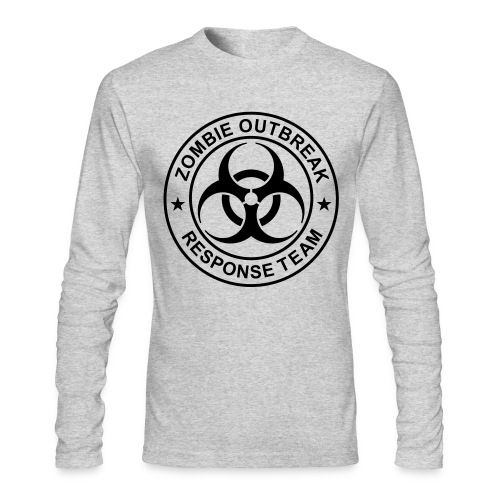 Men's Long Sleeve T-Shirt by Next Level - Zombie