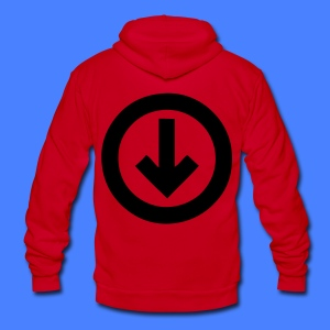 Under The Influence Zip Hoodies/Jackets - stayflyclothing.com - Unisex Fleece Zip Hoodie by American Apparel