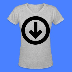 Under The Influence Women's T-Shirts - stayflyclothing.com - Women's V-Neck T-Shirt