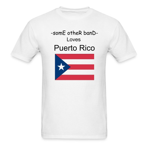 puerto rico love T - Men's T-Shirt