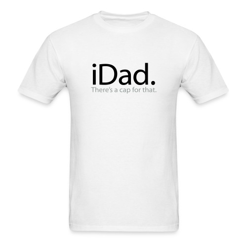 iDad  - Men's T-Shirt