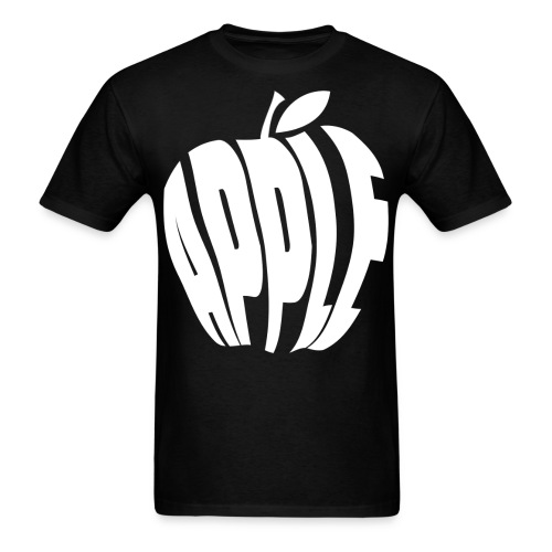 white apple - Men's T-Shirt