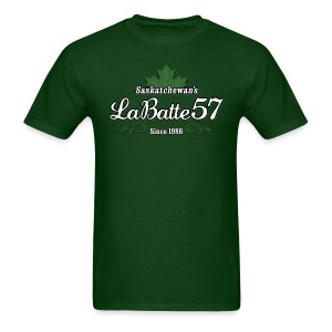 Saskatchewan's LaBatte57 (Male) - Men's T-Shirt