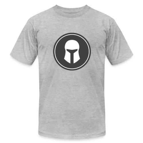 T-Shirt Men's Heather Grey - Men's Fine Jersey T-Shirt