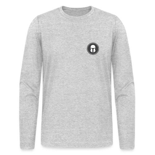 Long Sleeve Men's Heather Grey - Men's Long Sleeve T-Shirt by Next Level