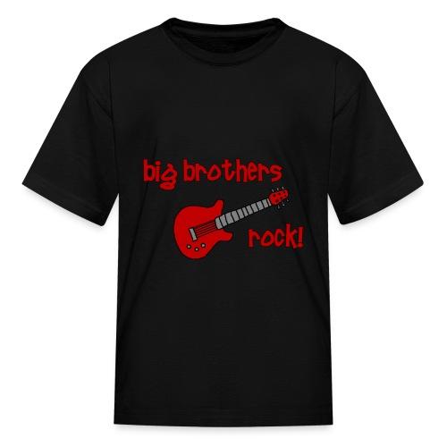 Big Brother's Rock - Kids' T-Shirt