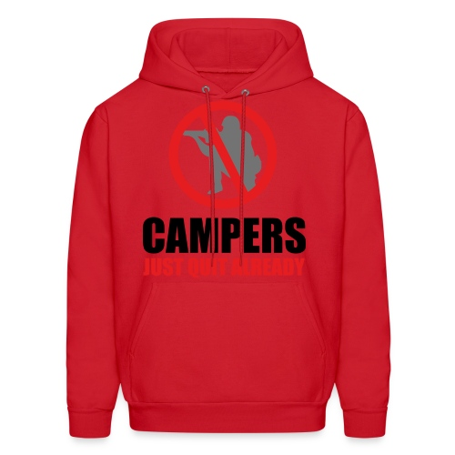 NO MORE CAMPERS - Men's Hoodie