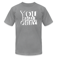 T-Shirts ~ Men's T-Shirt by American Apparel ~ Article 10304935