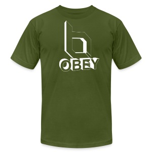 Men's T-Shirt by American Apparel - obeyalliance,obey agony,obey,Obey Clan