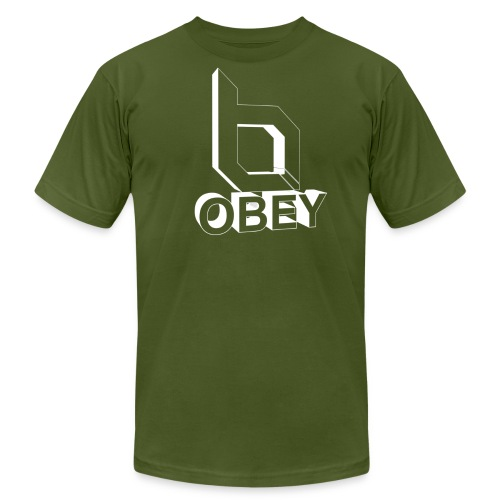 Men's T-Shirt by American Apparel - Obey Clan,obey,obey agony,obeyalliance
