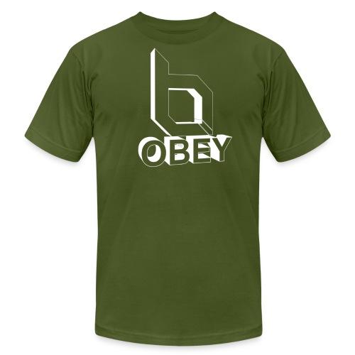 Men's Fine Jersey T-Shirt - obeyalliance,obey agony,obey,Obey Clan