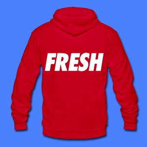 Fresh Zip Hoodies/Jackets - stayflyclothing.com - Unisex Fleece Zip Hoodie by American Apparel