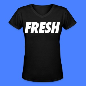 Fresh Women's T-Shirts - stayflyclothing.com - Women's V-Neck T-Shirt