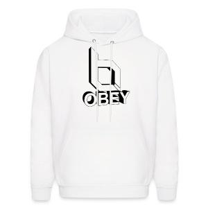 Men's Hoodie - obeyalliance,obey agony,obey,Obey Clan