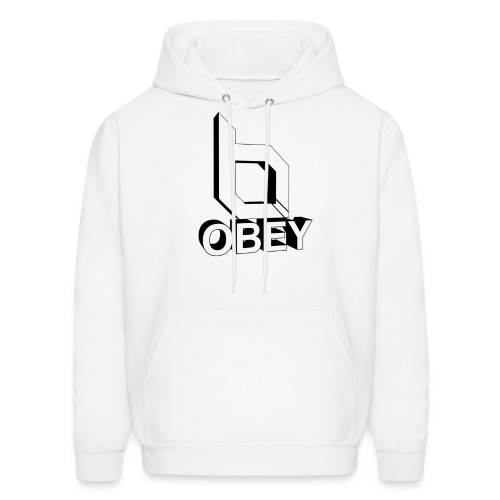Men's Hoodie - obeyalliance,obey agony,obey,Obey Clan