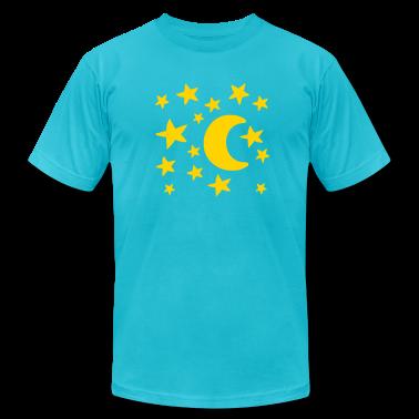 Moon stars T-Shirts