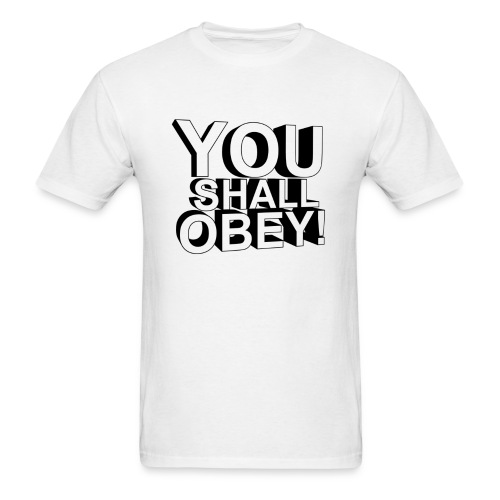 Men's T-Shirt - obeyalliance,obey agony,obey,Obey Clan