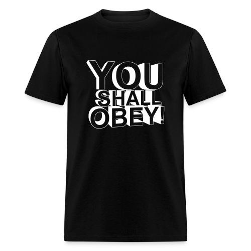 Men's T-Shirt - obeyalliance,obey agony,obey,Obey Clan