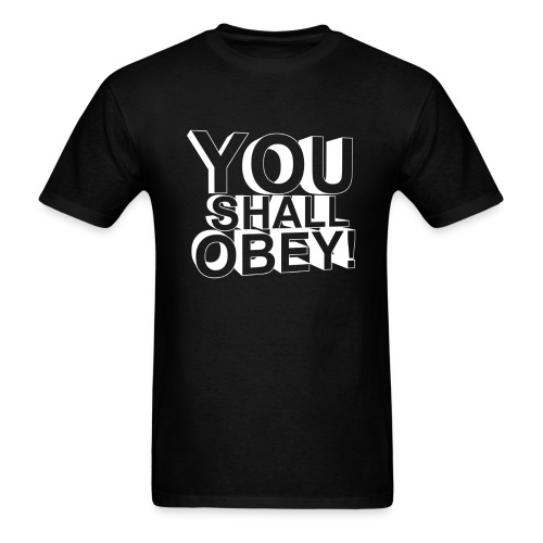 Men's T-Shirt - Obey Clan,obey,obey agony,obeyalliance