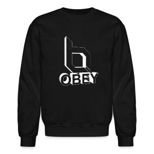 Crewneck Sweatshirt - obeyalliance,obey agony,obey,Obey Clan