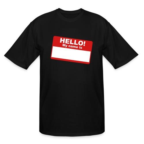 HELLO - Men's Tall T-Shirt