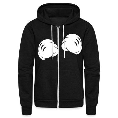 MICKEY FISTS Zip Hoodies/Jackets