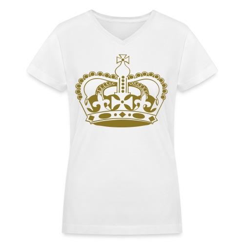 Elite-Vsion Women - Women's V-Neck T-Shirt