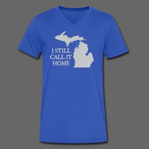 I Still Call it Home - Men's V-Neck T-Shirt by Canvas