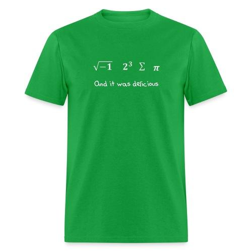i 8 Sum Pi (White) - Men's T-Shirt