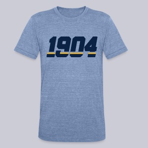 1904 - Unisex Tri-Blend T-Shirt by American Apparel