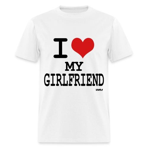 I <3 My Girlfriend - Men's T-Shirt