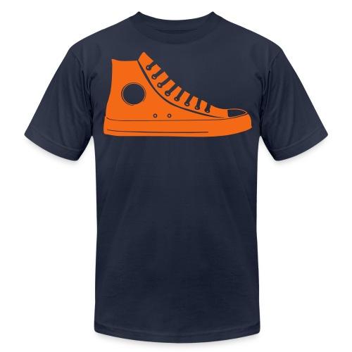 Orange Chuck - Men's  Jersey T-Shirt