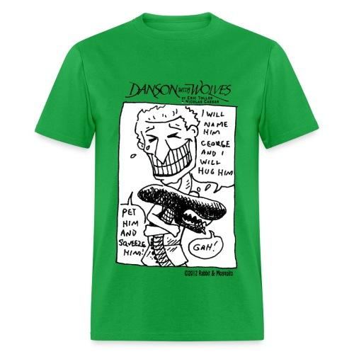 Danson with Alien - Men's T-Shirt