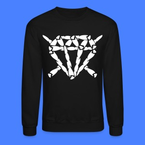 Blunt Diamond Long Sleeve Shirts - stayflyclothing.com - Crewneck Sweatshirt