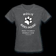 Women's T-Shirts ~ Women's T-Shirt ~ Official Dogs Against Romney