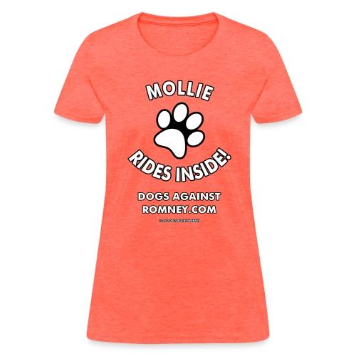Official Dogs Against Romney Mollie Women's Tee - Women's T-Shirt