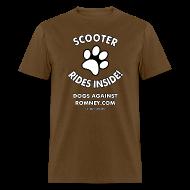 T-Shirts ~ Men's T-Shirt ~ Official Dogs Against Romney