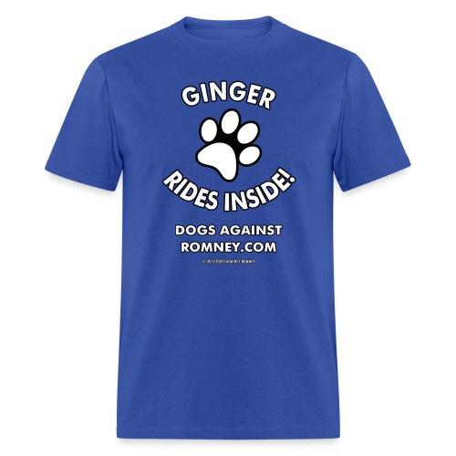 Official Dogs Against Romney Ginger Men's Tee - Men's T-Shirt