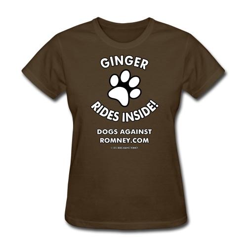 Official Dogs Against Romney Ginger Women's Tee - Women's T-Shirt
