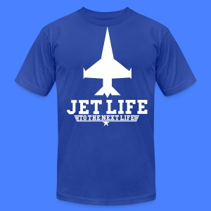 Jet Life To The Next Life T-Shirts - stayflyclothing.com - Men's T-Shirt by American Apparel