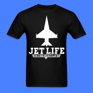 Jet Life To The Next Life T-Shirts - stayflyclothing.com - Men's T-Shirt
