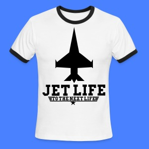 Jet Life To The Next Life T-Shirts - stayflyclothing.com - Men's Ringer T-Shirt