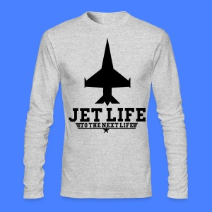 Jet Life To The Next Life Long Sleeve Shirts - stayflyclothing.com - Men's Long Sleeve T-Shirt by Next Level