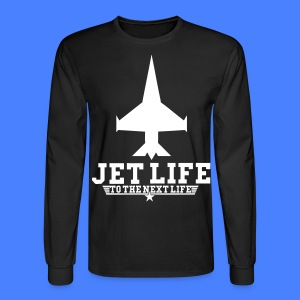 Jet Life To The Next Life Long Sleeve Shirts - stayflyclothing.com - Men's Long Sleeve T-Shirt